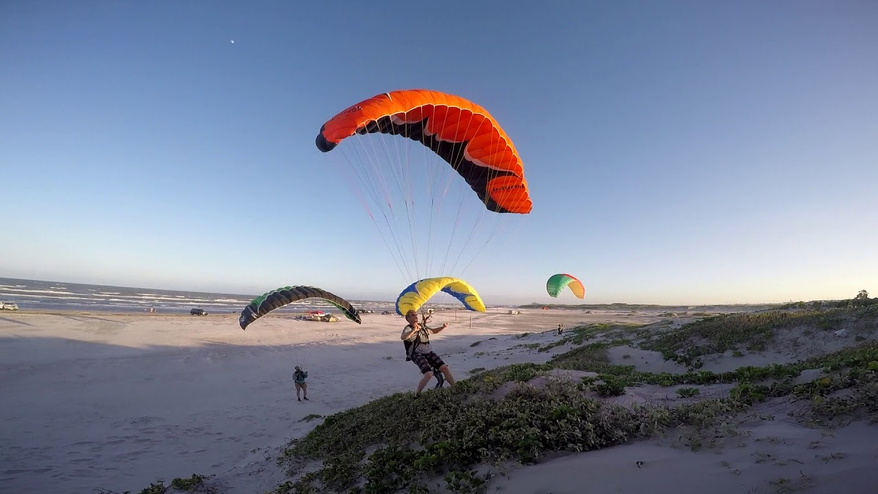 Can YOUR Paramotor Instructor Fly In 25 - 35 MPH Winds??!! Powered  Paragliding Master Training!!