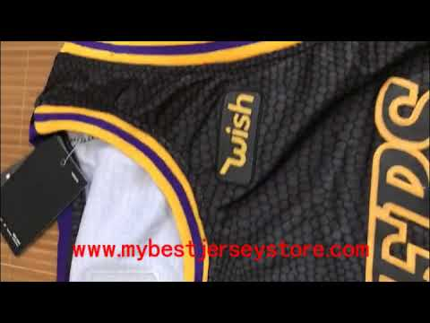 wholesale dealer 75fb9 c00a1 2018 Black City #Lakers Lebron #James Jersey $20+shipping