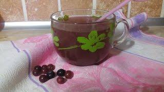 Клюквенный морс БЕЗ ВАРКИ/Cranberry juice without cooking
