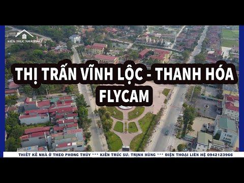 Thị trấn Vĩnh Lộc - Flycam l Kts Trịnh Hùng