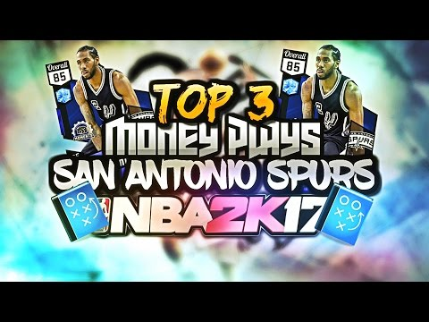 NBA 2K17 Tips Spurs Best Money Plays Offense. 2K17 How to score with Horns Set Freelance Tutorial