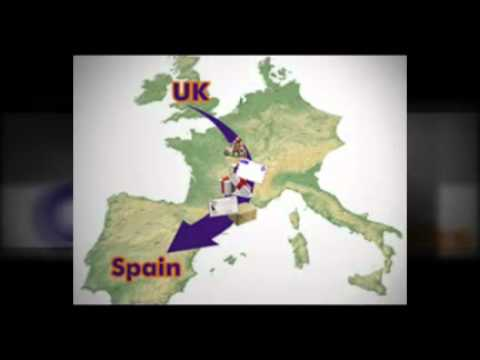 Courier Service Spain