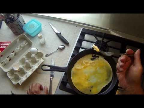Как делать омлет без молока