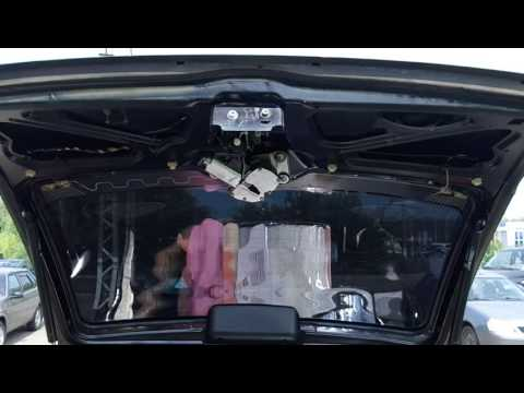 Улучшение замка багажника Лада Калина