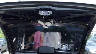 видео [BR-GAVS] Регулировка багажника на КАЛИНЕ 2