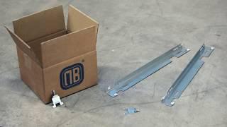 Staffe a parete GB1 per radiatori (piastra in acciaio)