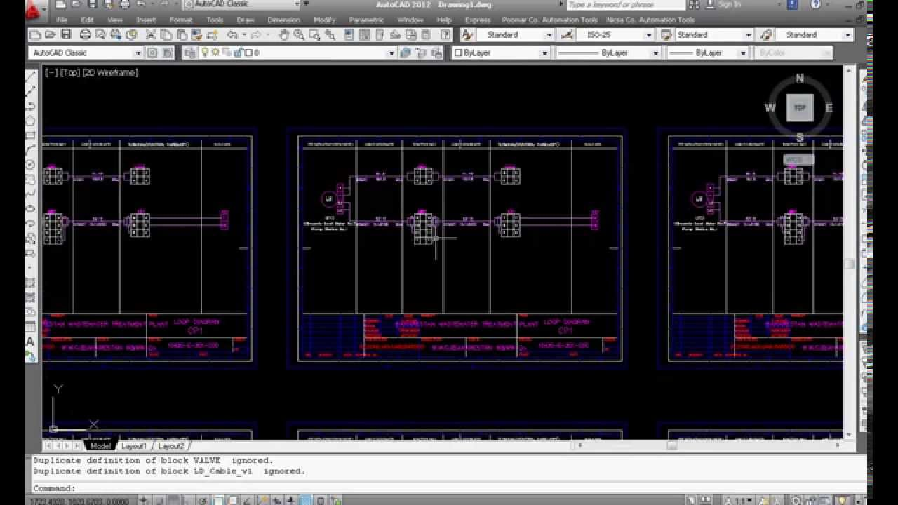 Example Of Automatic Drawing In Autocad By Vba  Loop