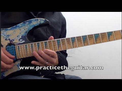 Not always guitar lick pentatonic abroad