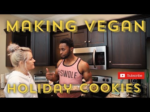 HOW TO MAKE VEGAN HOLIDAY COOKIES (VLOG 29)