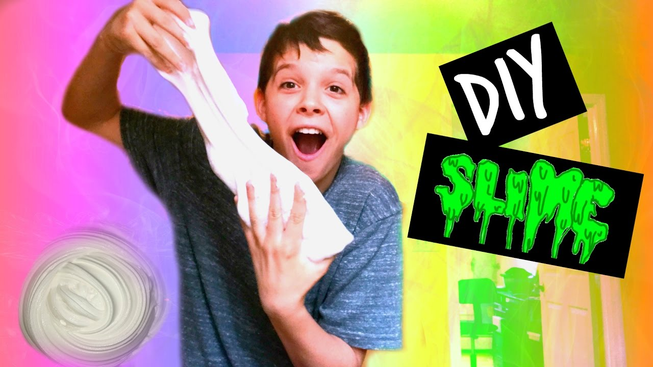 how to make fluffy slime with only using shaving cream
