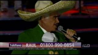 VICENTE FERNANDEZ - el hombre que mas te amo (iMx) 2010