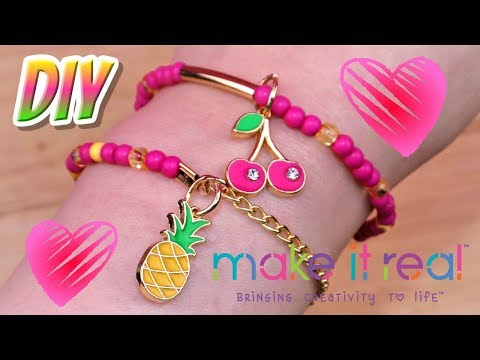 DIY Juicy Couture Fruit Obsessions Bracelets 🍍 How to Make Juicy Couture Fruit Obsessions Bracelets