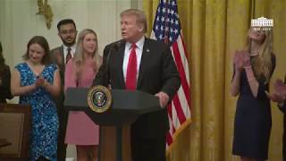 President Trump Participates in an Executive Order Signing