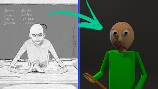 The true story oḟ Baldi's Basics_feat. Nightmare Files