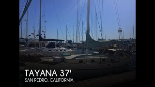 [SOLD] Used 1980 Tayana 37 Pilothouse in San Pedro, California