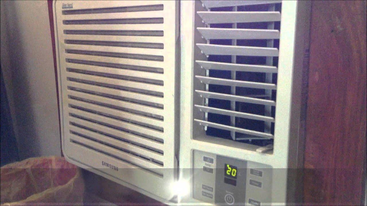 2009 samsung 18 000 btu window air conditioner startup and for 18000 btu window air conditioners