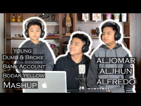 Young Dumb & Broke, Bank Account, & Bodak Yellow Mashup | Alex Aiono MASHUP FT JamieBoy (Cover)