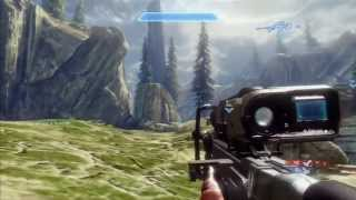 Halo 4 Team Snipers Gameplay Xbox 360
