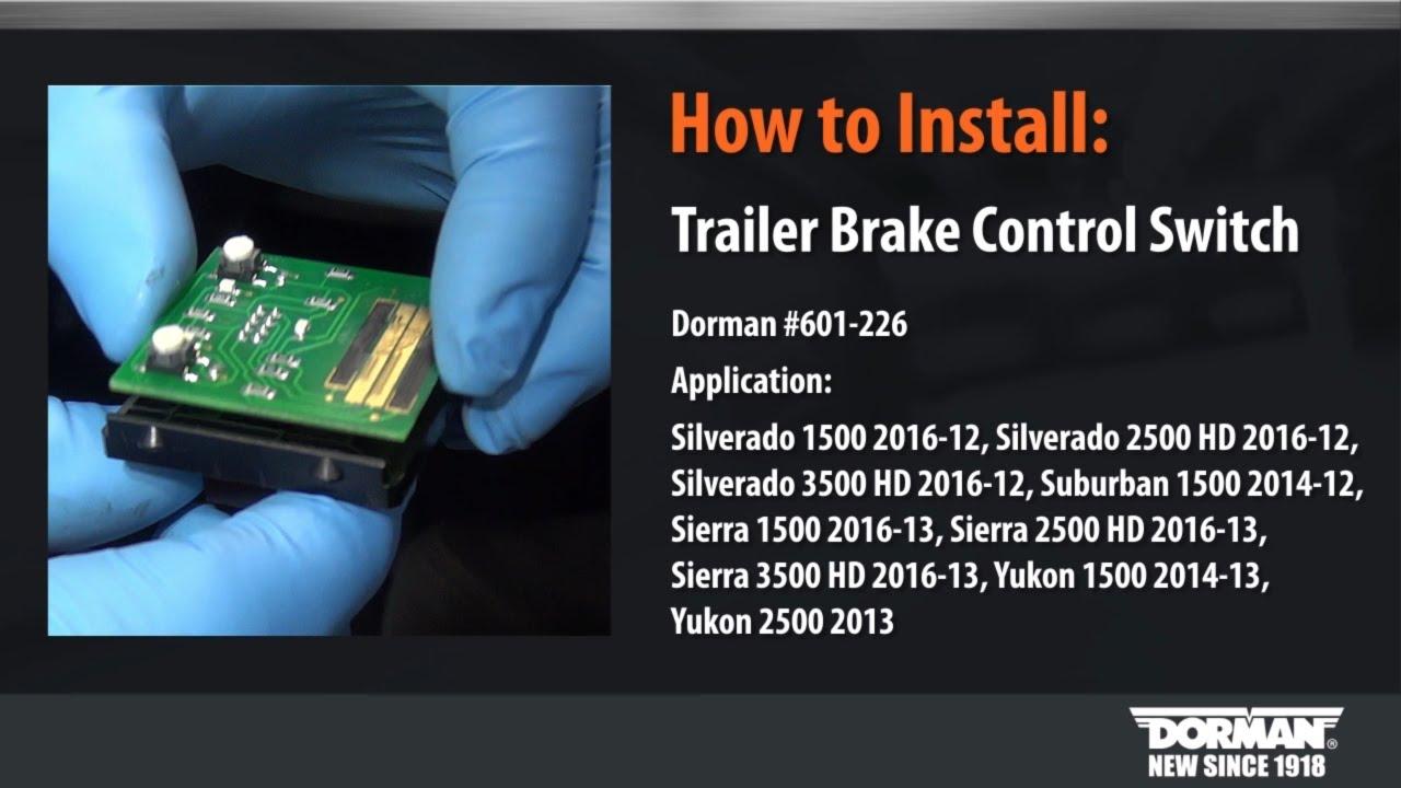 Trailer Brake Control Module Tahoe Suburban Silverado Yukon Sierra Escalade
