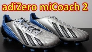 wholesale dealer 06bb3 a61a8 Фото с обложки Adidas F50 Adizero Micoach 2 Leather Metallic Silver -  Unboxing + On Feet