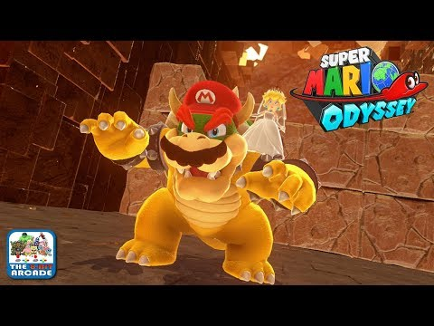 Super Mario Odyssey - Defeating and Capturing Bowser (Nintendo Switch Gameplay)