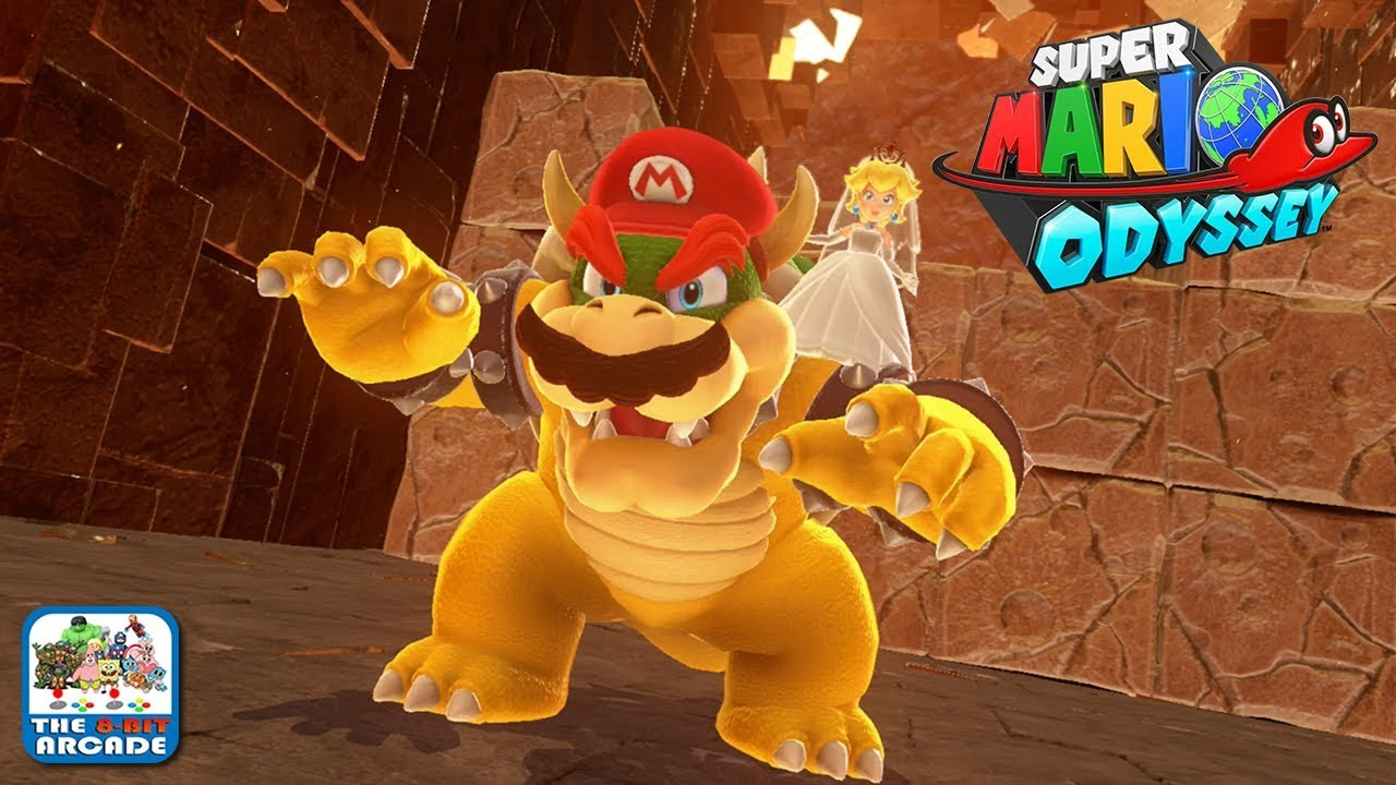 super mario odyssey defeating and capturing bowser nintendo