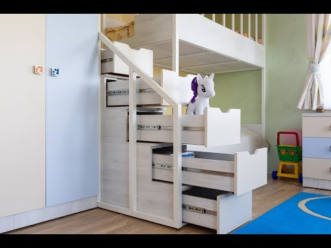 Детская мебель для троих детишек  под заказ в Минске от компании Эверест