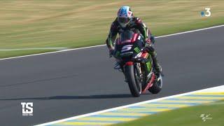 Moto GP : Johann Zarco en pleine préparation du Grand prix de France