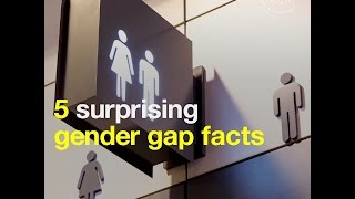 5 surprising gender gap facts