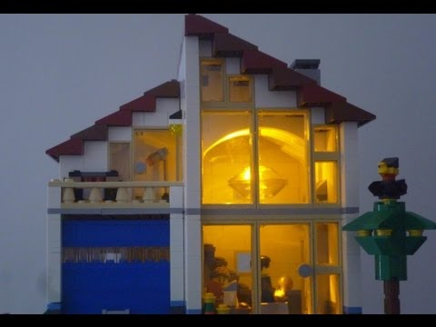 LEGO Creator 31012 Family House Animated Speed Build Special!