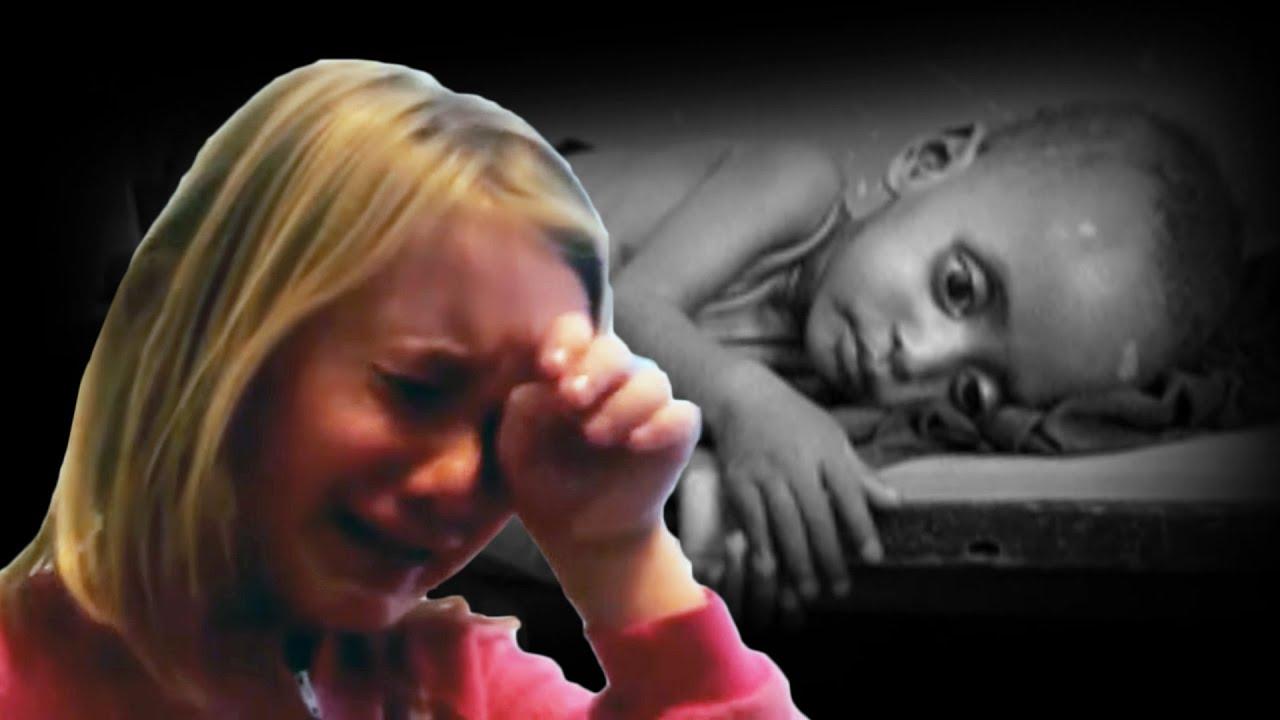 little girl cries for the starving children - youtube