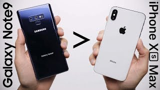 Download 25 Reasons Galaxy Note 9 Is Better Than iPhone XS Max Mp3 and Videos