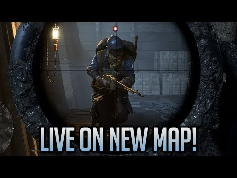 Battlefield 1 LIVE on New Map Nivelle Nights