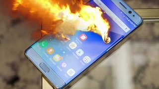 Смартфон как бомба замедленного действия  Как взрываются Самсунг