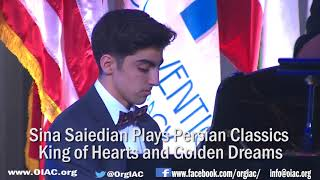 pianist seena saidian 16 years old iranian american plays at 2018 iran freedom convention