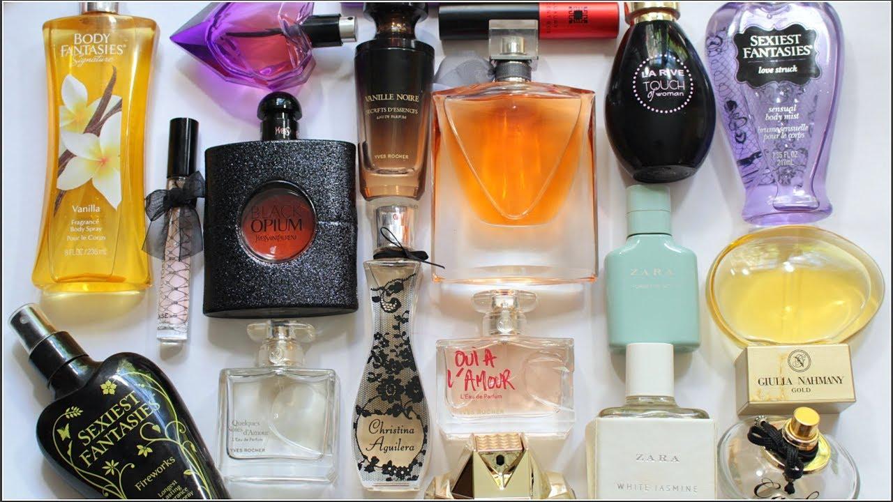 Rom Colectia Mea De Parfumuri 2018 Youtube