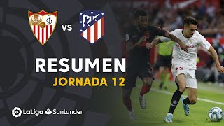 Resumen de Sevilla FC vs Atlético de Madrid (1-1)