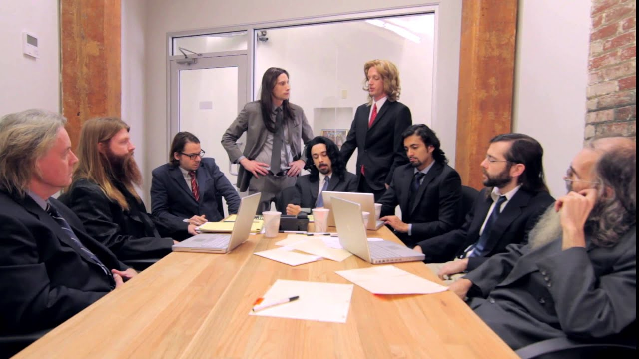 Long Haired Businessmen Quot Conference Call Quot Youtube