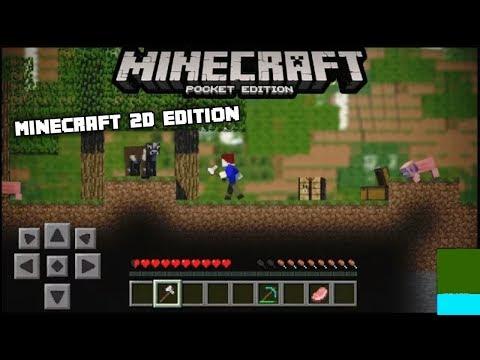 Cara Main Minecraft 2D Di Android / WIN10 Dengan Mudah (NOT CLICKBAIT) | Minecraft 1.2