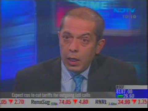 """Atul Punj Interview with Omkar Goswami on NDTV Profit """"Question Time"""" Show 11 March 2009"""