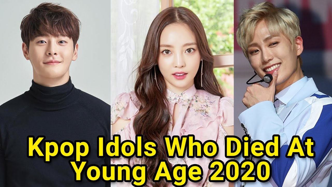10 Kpop Idols Who Died At Young Age 2020 Youtube