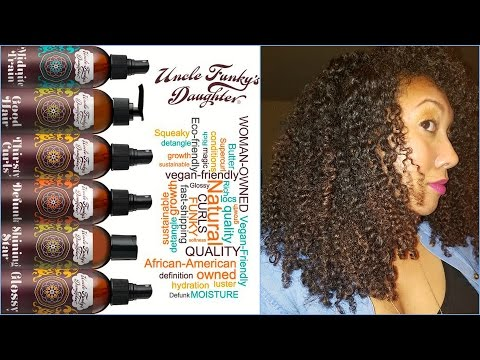 Uncle Funky's Daughter Spotlight: Full Product Line Review | Ashkins Curls