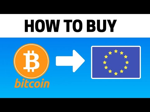 How To Buy Bitcoin In Europe (CHEAPEST WAY!)
