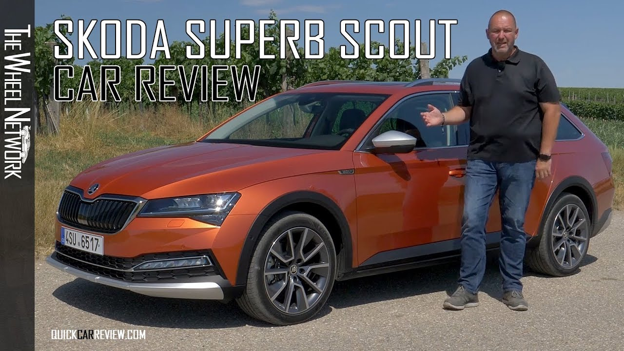 Car Review 2020 Skoda Superb Scout Test Drive Youtube