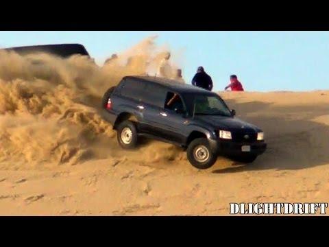 تطعيس في العديد 06/12/2013 - Desert Driving in Qatar