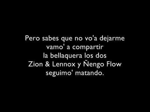 Chupop (Remix) Letra - Zion y Lennox Ft Ñengo Flow, J. Alvarez, Lui-G 21 Plus, Ñejo, Franco