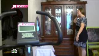 Анна Ноздрина и Анна Чайкина в телевизионном проекте «Я худею!»: 8-й выпуск третьего сезона