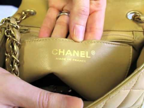 e1ce0b682 How to Authenticate a Chanel Handbag - YouTube