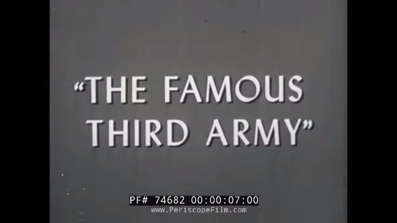 THE THIRD ARMY IN WORLD WAR II GENERAL GEORGE S PATTON 74682