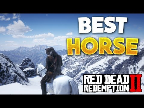 Red Dead Redemption 2 Best Horse! How To Get Arabian White Coat Horse (RDR2 Best Horse)